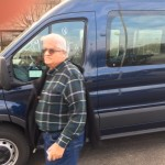 Retiree picking up my 2015 Ford Transit Van on March 18, 2016 in St. Louis